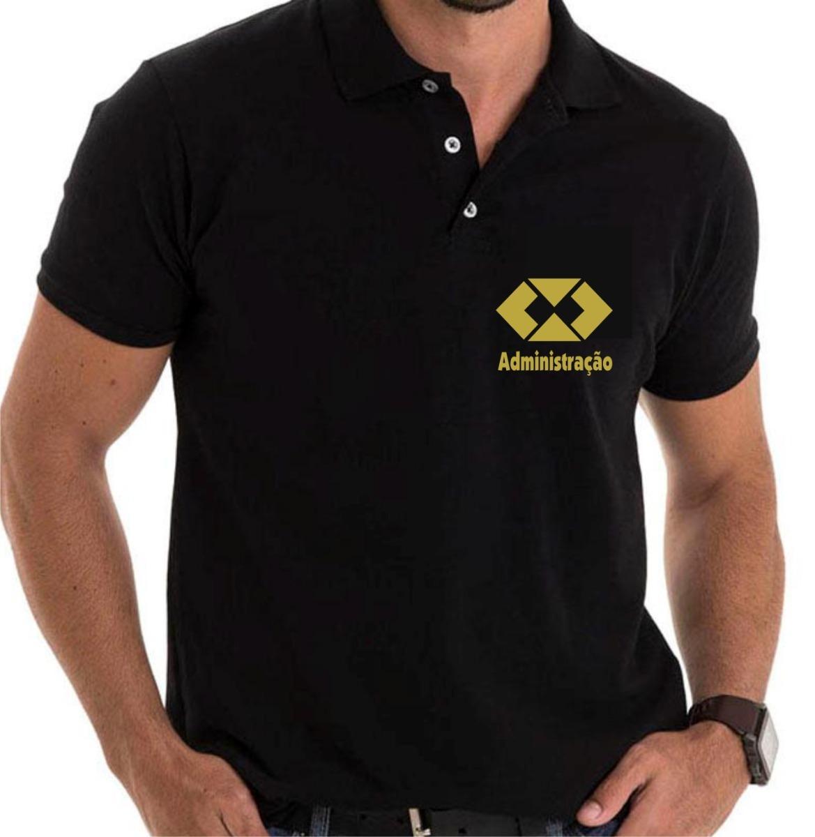 1a4808edc3 camisa polo administração - curso adm - logo. Carregando zoom.