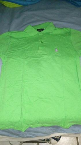 camisa polo adulto (talla chica de adulto)