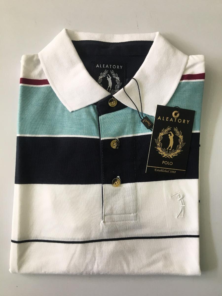 camisa polo aleatory masculina listrada original 006. Carregando zoom. a2726f0869ef4