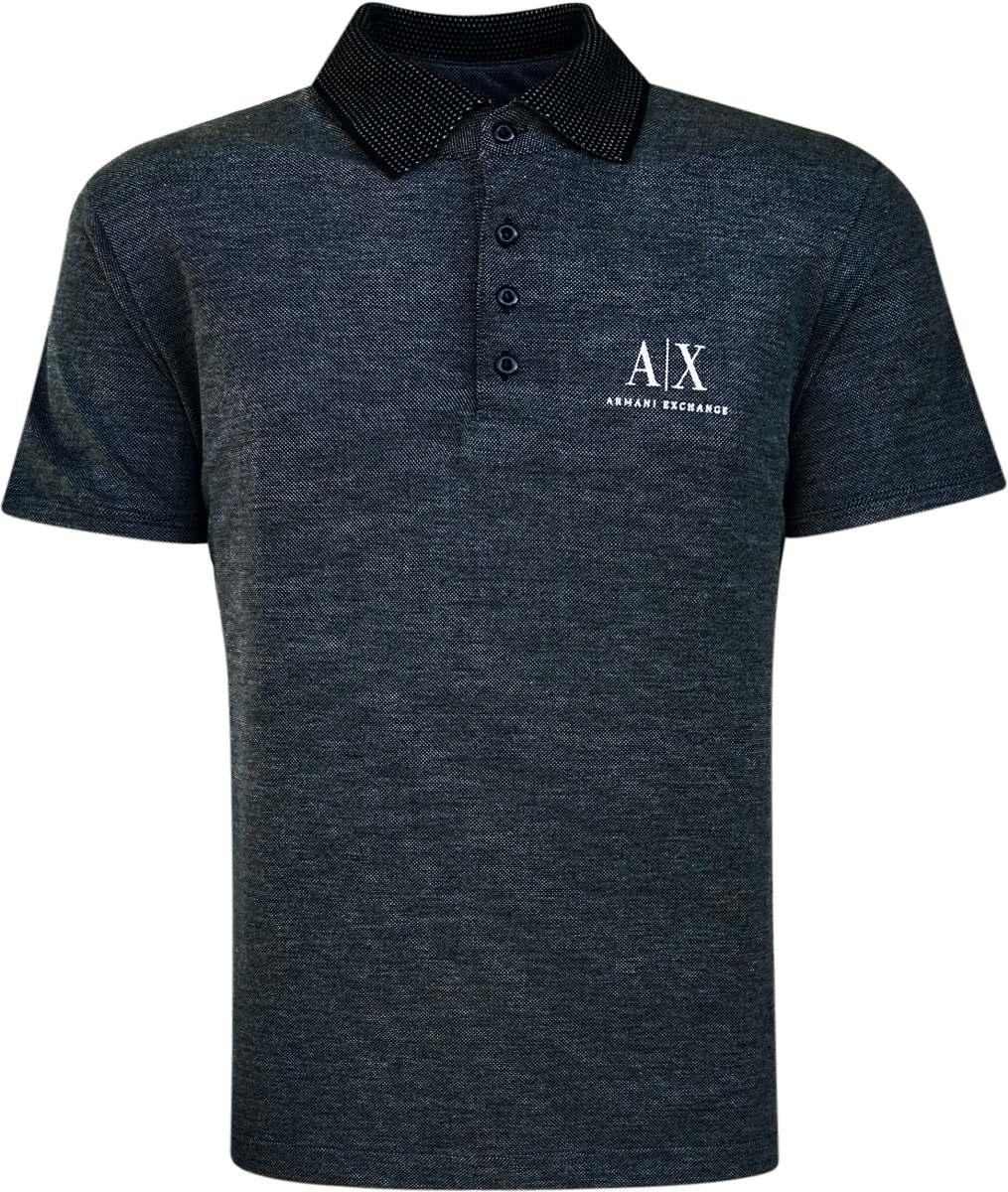 camisa polo armani exchange masculina preta pronta entrega. Carregando zoom. 07be171c82f0a