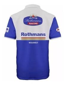 eeb59bee1b Camisa Williams F1 - Calçados, Roupas e Bolsas com o Melhores Preços ...