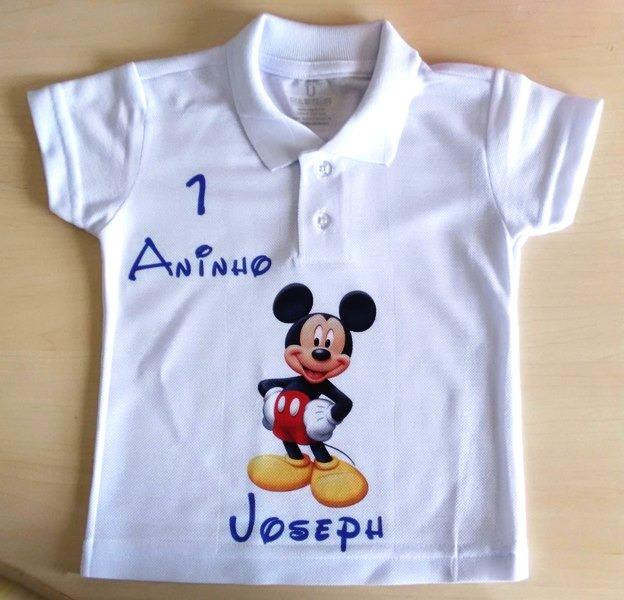 2e8aa8927 Camisa Polo Baby Personalizada Com Sua Estampa Foto Frase - R  24