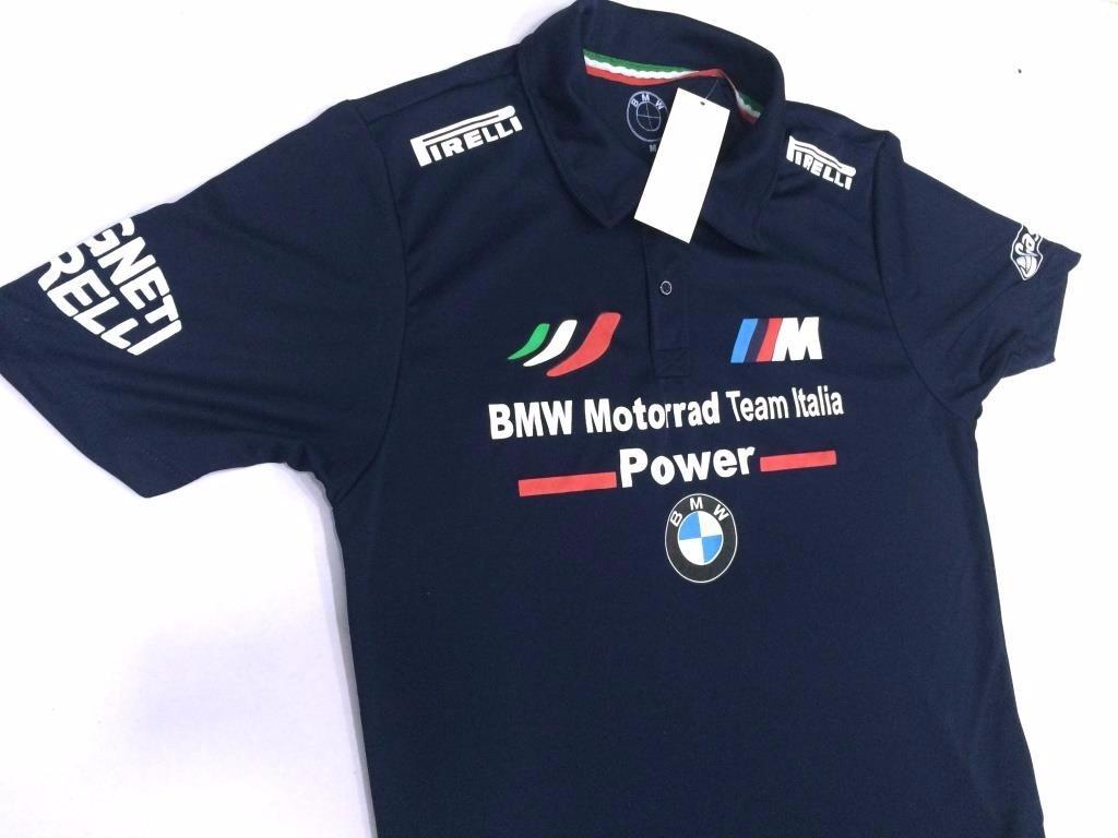 camisa polo bmw motorrad team italia time italia oficial pmg. Carregando  zoom. 826df5b3c25b9