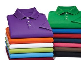 4d68f21db Kit 10 Camisas Polos Bordadas Com Nome Ou Logomarca Uniforme