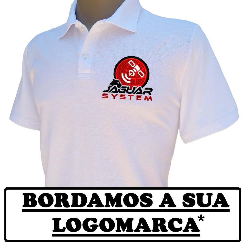camisa polo bordada personalizada para uniforme. Carregando zoom. 9f4e7299aff53