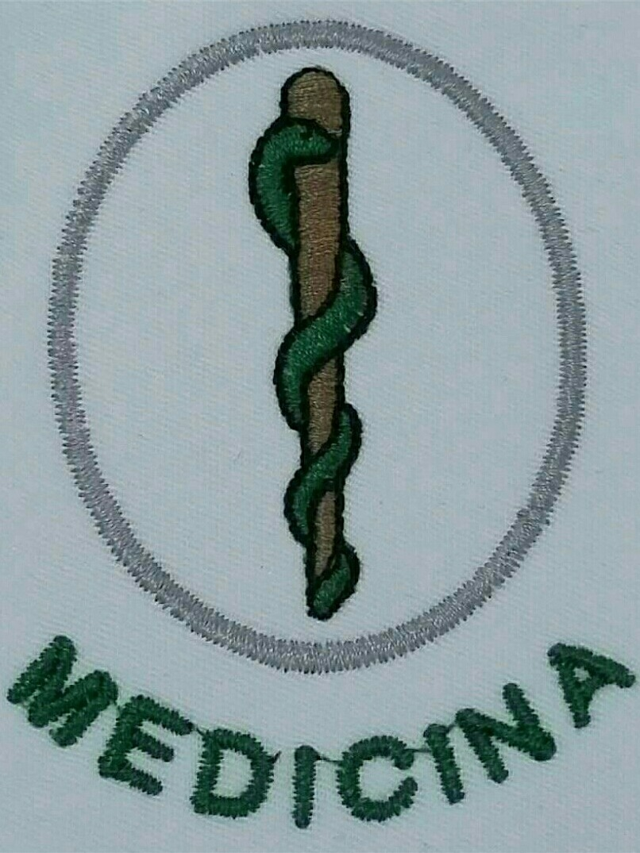 4b91f1b2acb89 camisa polo bordada símbolo curso e profissão ( uniforme ). Carregando zoom.