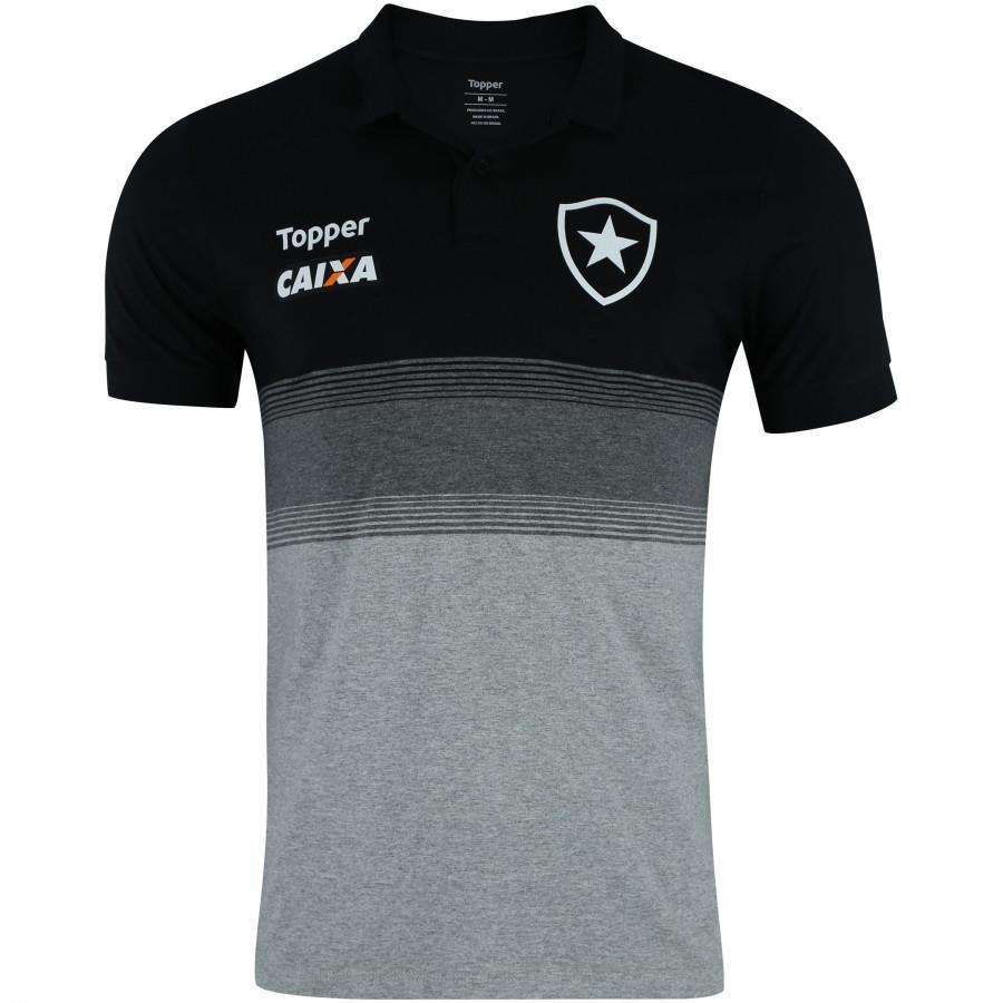 5ecb3ae16 camisa polo botafogo viagem topper masculina 2018 19. Carregando zoom.