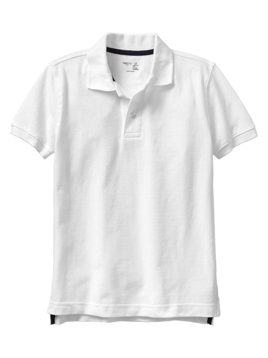 e0e7cdf582 camisa polo branca gap infantil menino original 6 anos. Carregando zoom.