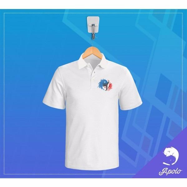 38c49f22cb8d9 Camisa Polo Branca Personalizada Feminina Com Logo Empresa - R  55 ...
