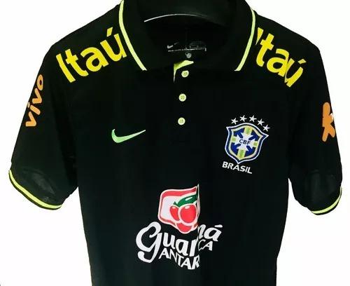 dfd1f255b6c81 Camisa Polo Brasil 2018 Copa Mundo - R  79