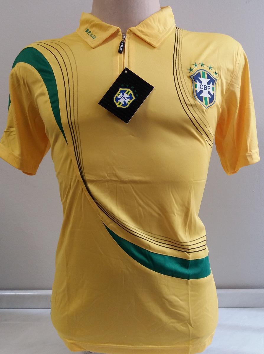 92ebb570af camisa polo brasil amarela passeio copa 2018. Carregando zoom.