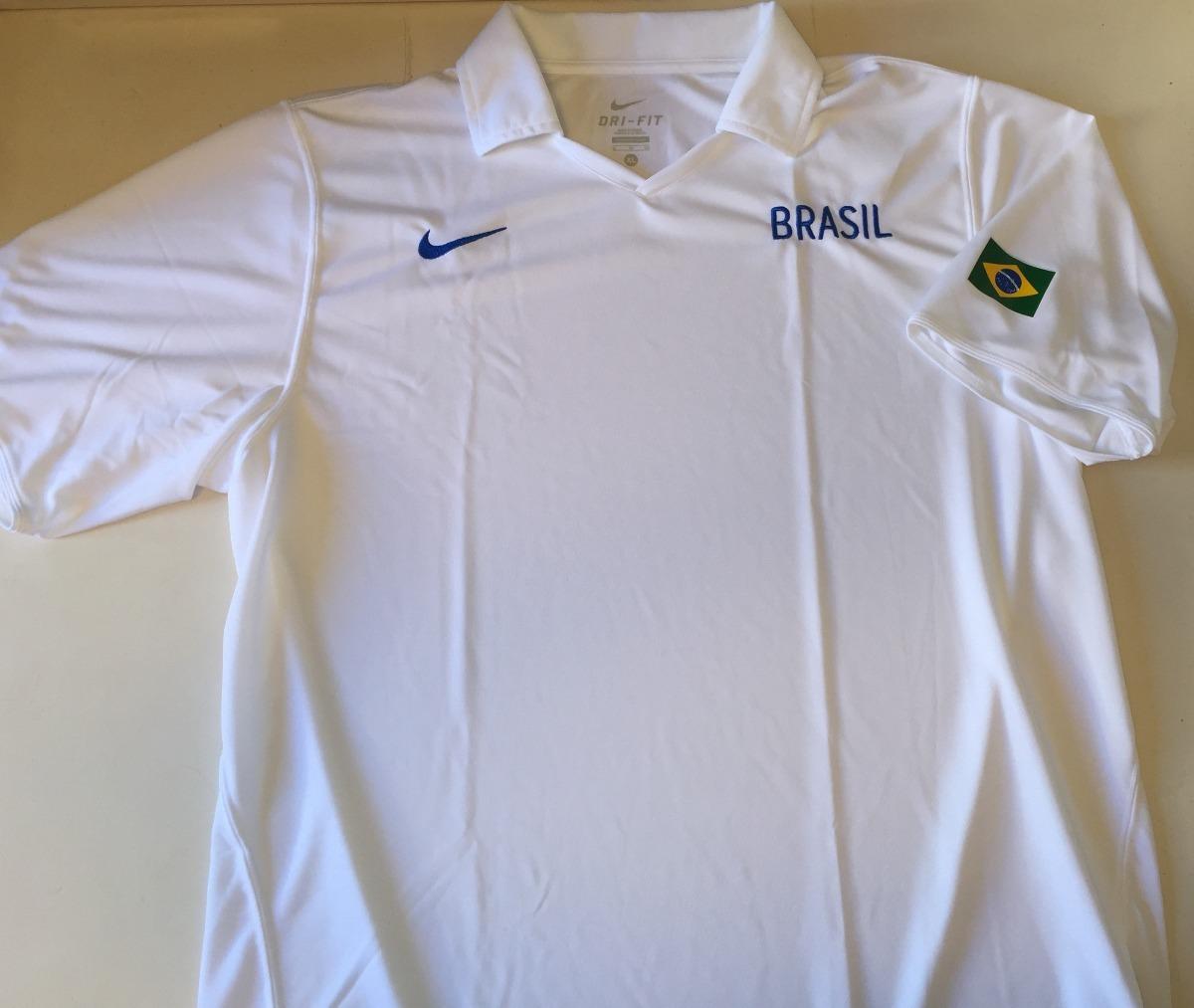 8ed139b199212 camisa polo brasil basquete - nike original! copa olimpíadas. Carregando  zoom.