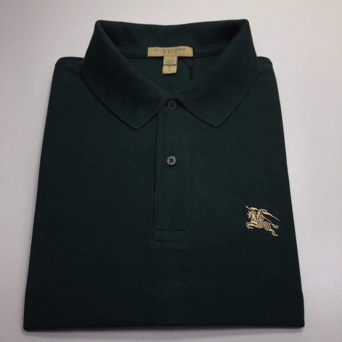 camisa polo burberry brit masculina   tamanho xxl   original. Carregando  zoom. ea41cc1e473