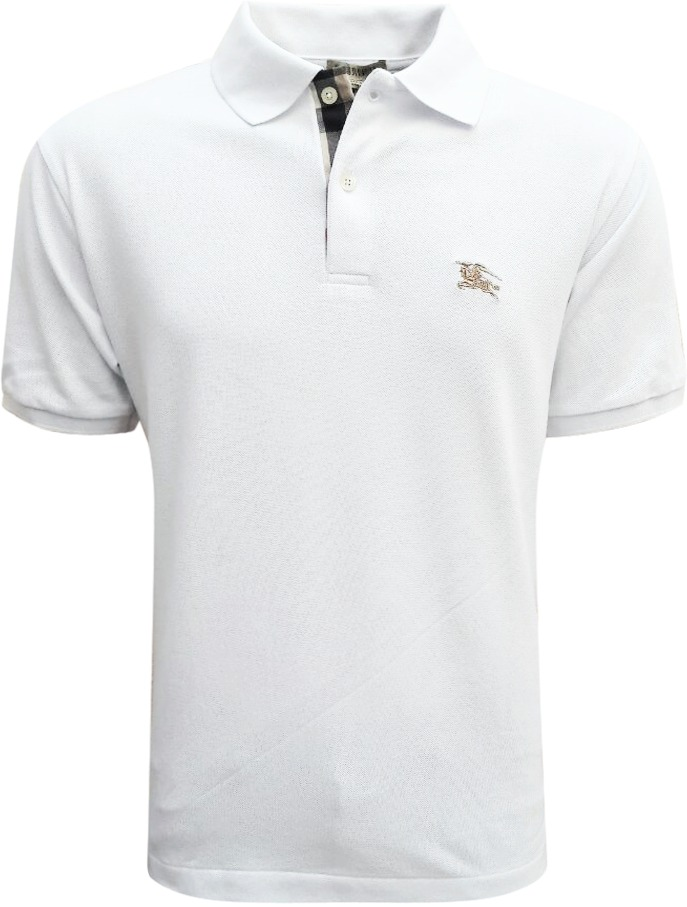 camisa polo burberry masculina branca pronta entrega. Carregando zoom. d14a60b54b755