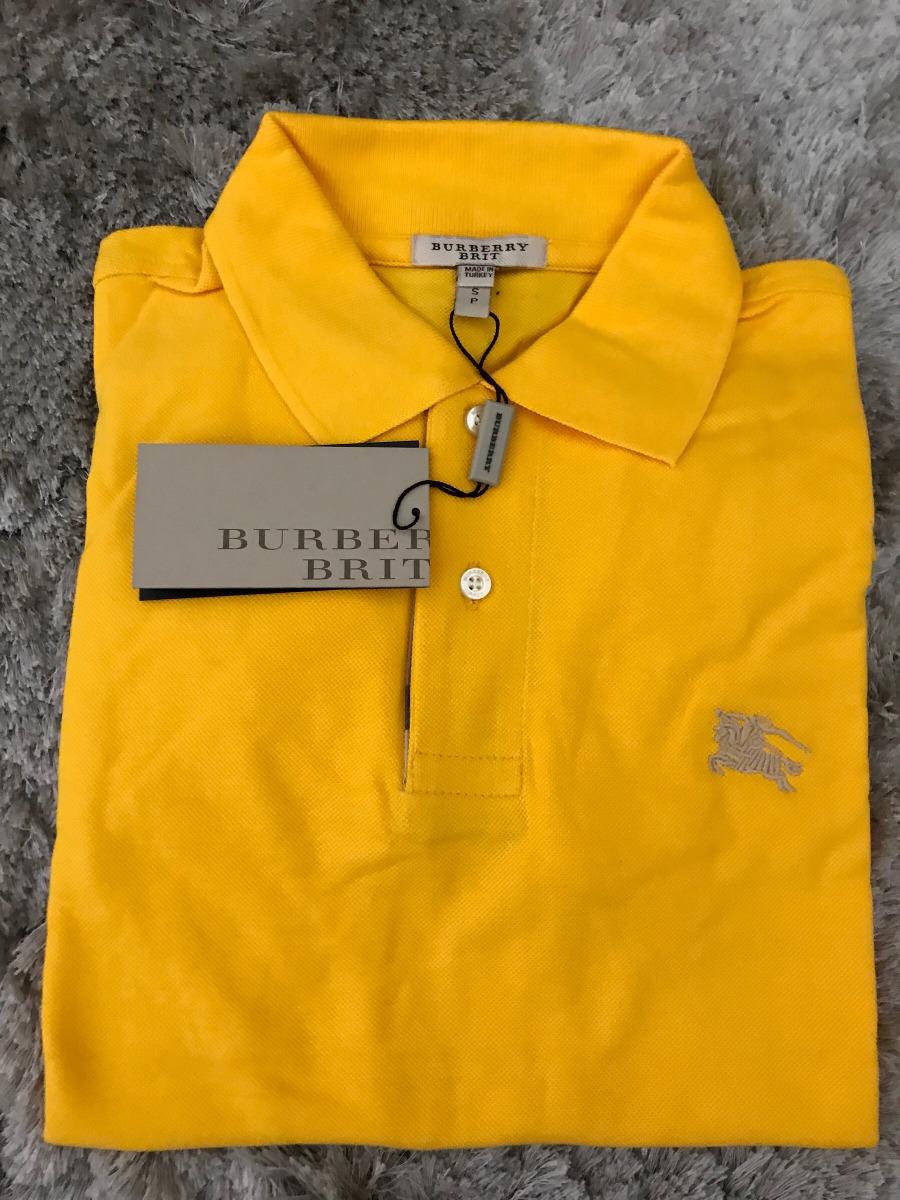 19911fa9d8 camisa polo burberry masculina tamanho p. Carregando zoom.