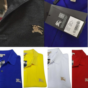 bf1b3d29a Camisa Infantil Burberry no Mercado Livre Brasil