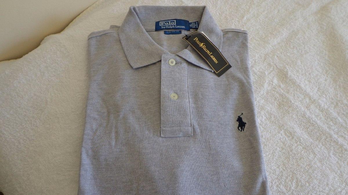 camisa polo by ralph lauren cinza cavalo azul tam . gg. Carregando zoom. e90f9d67f39