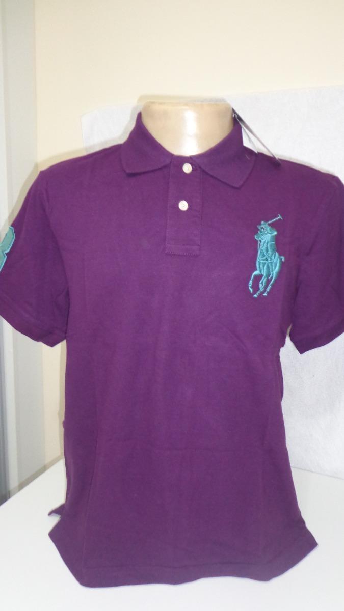 camisa polo by ralph lauren roxo tam ggg- gg- m- p-. Carregando zoom. 6ccb098e95c