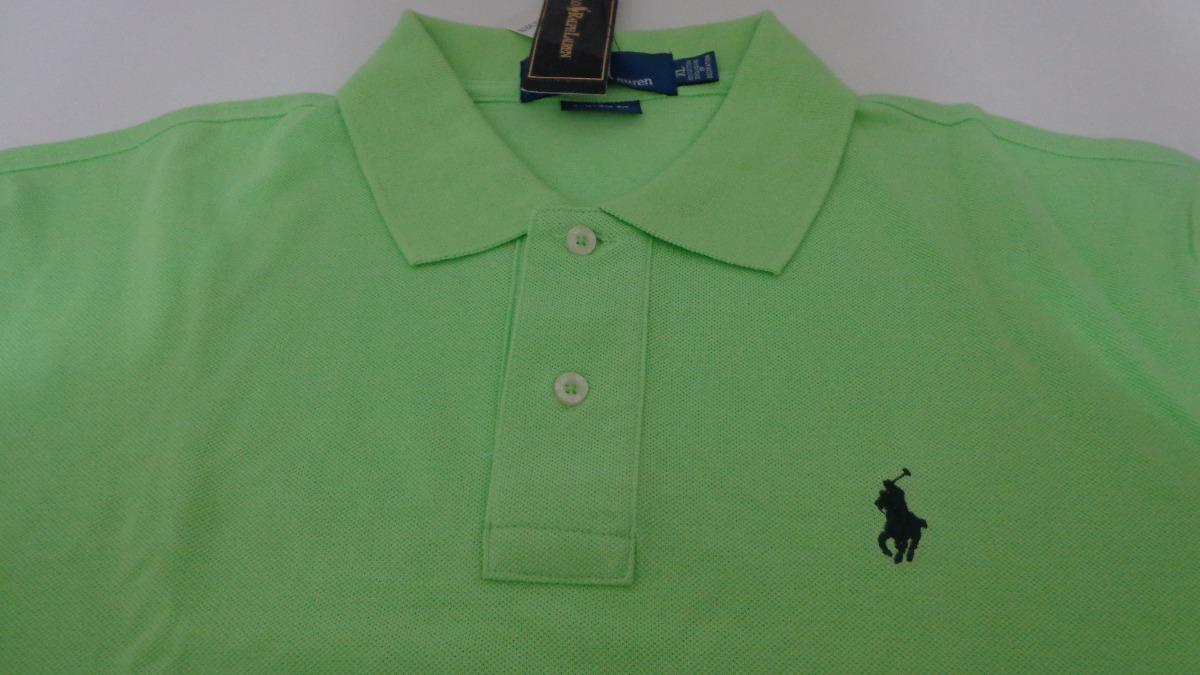 camisa polo by ralph lauren verde cavalo azul tam gg-g. Carregando zoom. 6cbd2255356