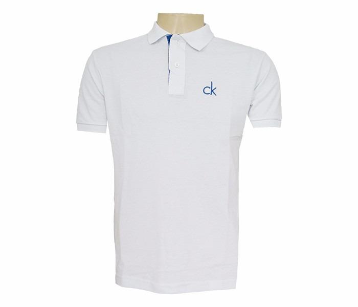 Camisa Polo Calvin Klein Branca - R  99 b79a6f0affa