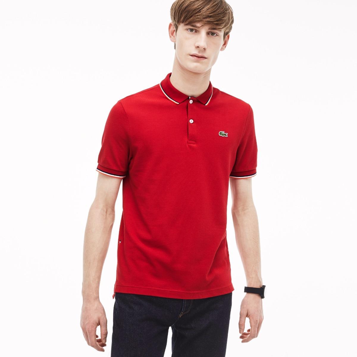 Camisa Polo   Camiseta Lacoste 100% Original Lançamento - R  189,00 ... 58aef61cec
