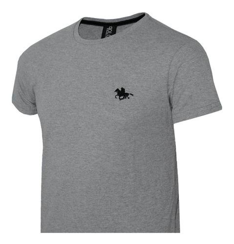 camisa polo cavalo bordado com 05 cores - compre agora