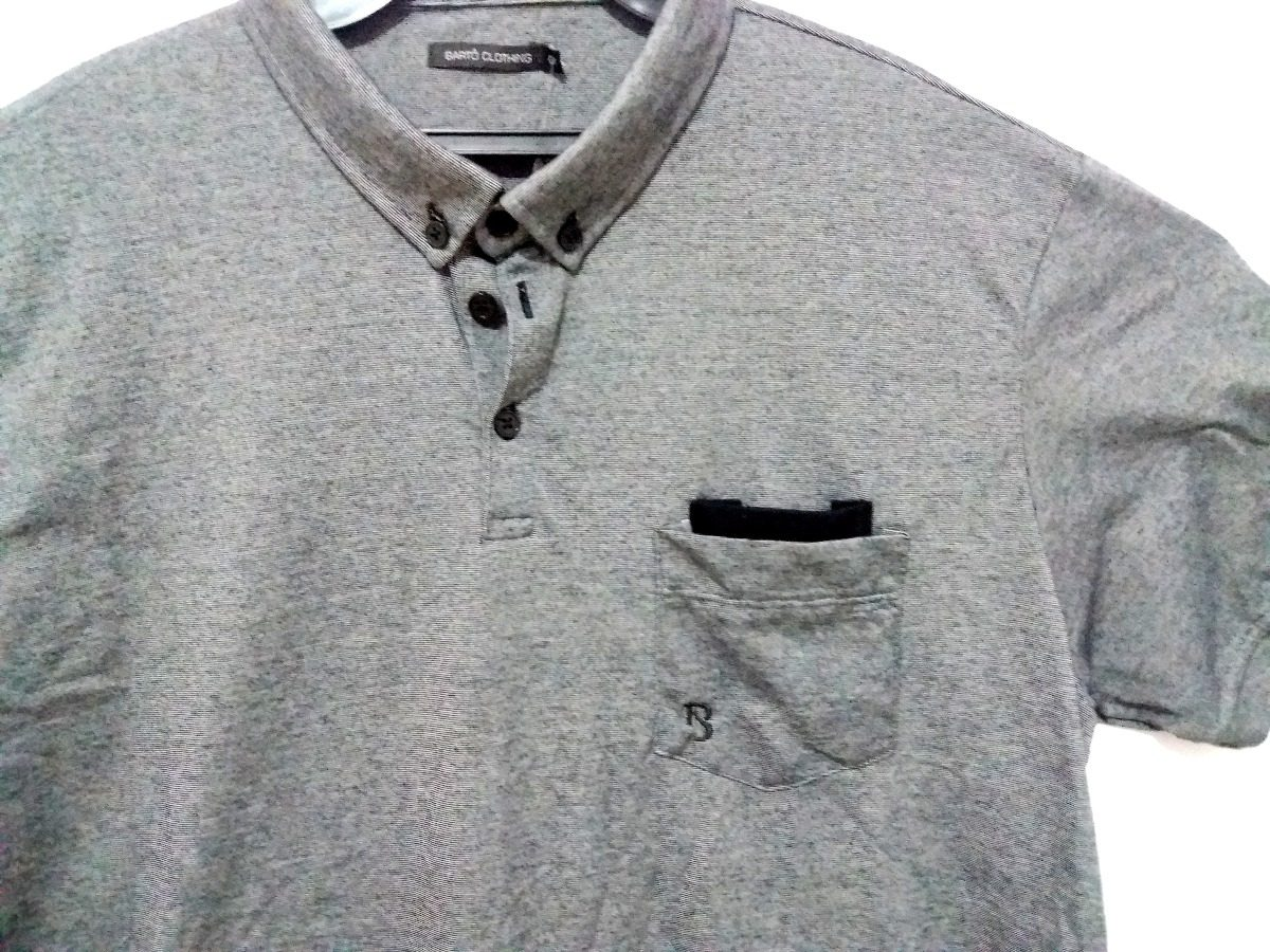 bd0feb5842 camisa polo cinza masculina - tamanho g1 - bartô. Carregando zoom.