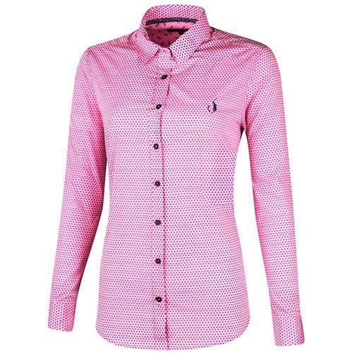 camisa polo club   akd010  rosa marino pv