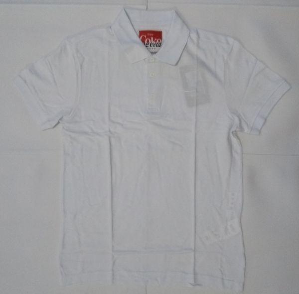 Camisa Polo Coca-cola Jeans Branca Masculina Algodão 00750 - R  69 ... 4497d35b4f5a6