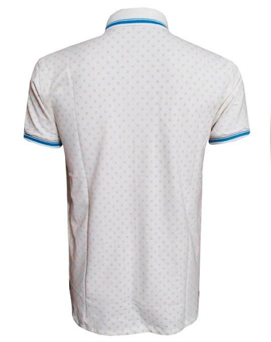 64ff1ba0cac7c Camisa Polo Col Cci Branca Desenhos ( Várias Cores ) - R  89