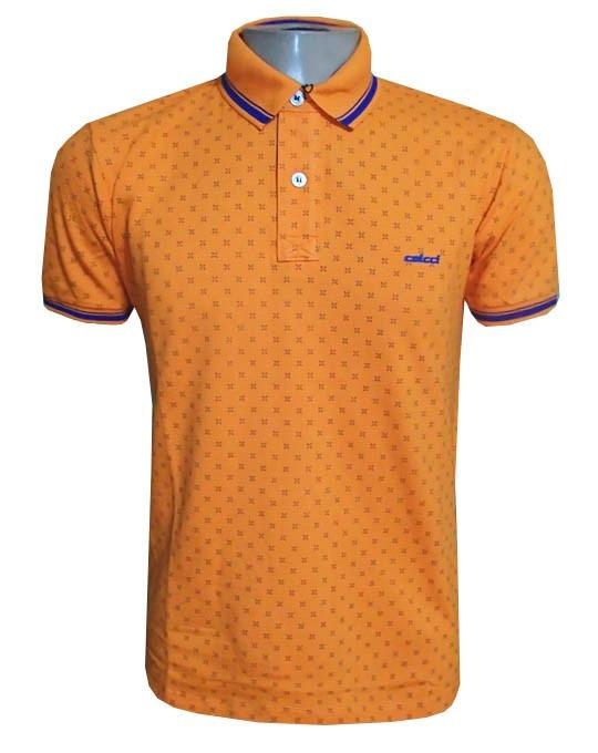 ee1cf07621c82 Camisa Polo Col Cci Laranja Desenhos ( Várias Cores ) - R  89