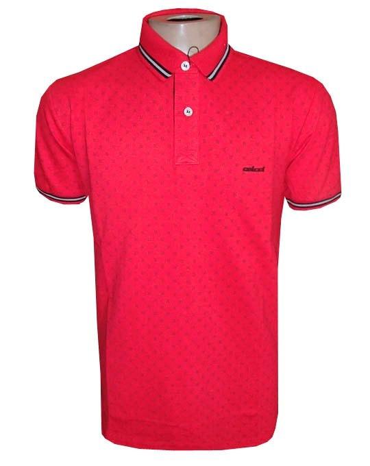 6fdfaa4e1b Camisa Polo Col Cci Vermelha Desenhos ( Várias Cores ) - R  89