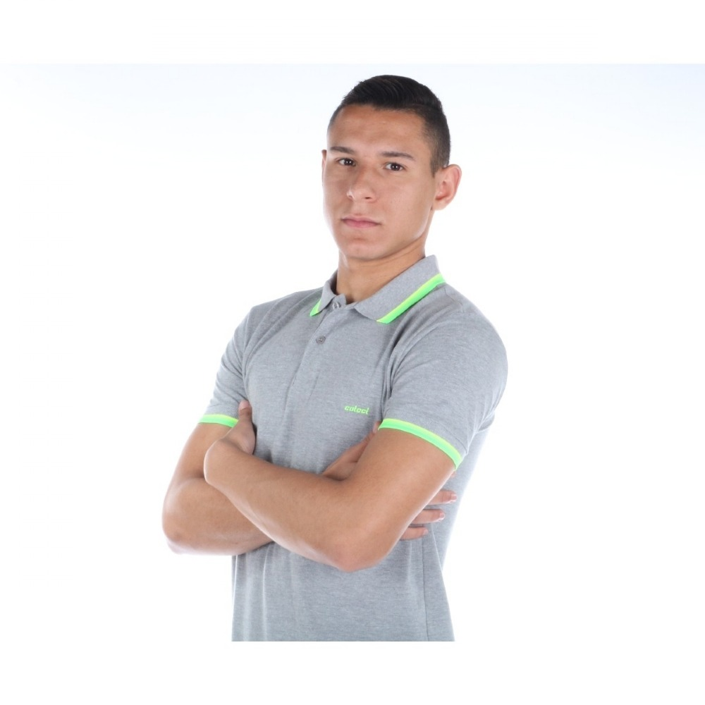 0afb72f6d Camisa Polo Colcci Masculina Slim Com Detalhe Gola E Mangas - R$ 126 ...