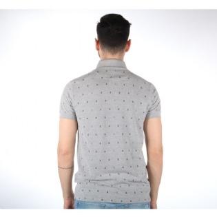 Camisa Polo Colcci Masculina Slim Estampada Tecido Mescla - R  232 ... 4b71e2cfe4003