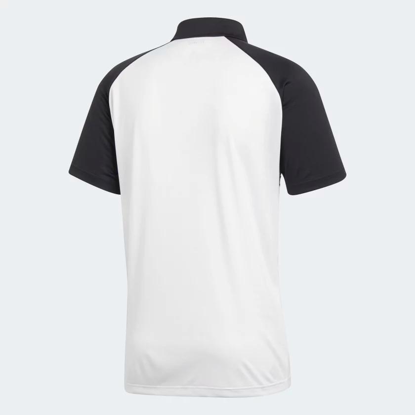 9b14a7bf6 camisa polo colorblock club adidas preta e branca. Carregando zoom.