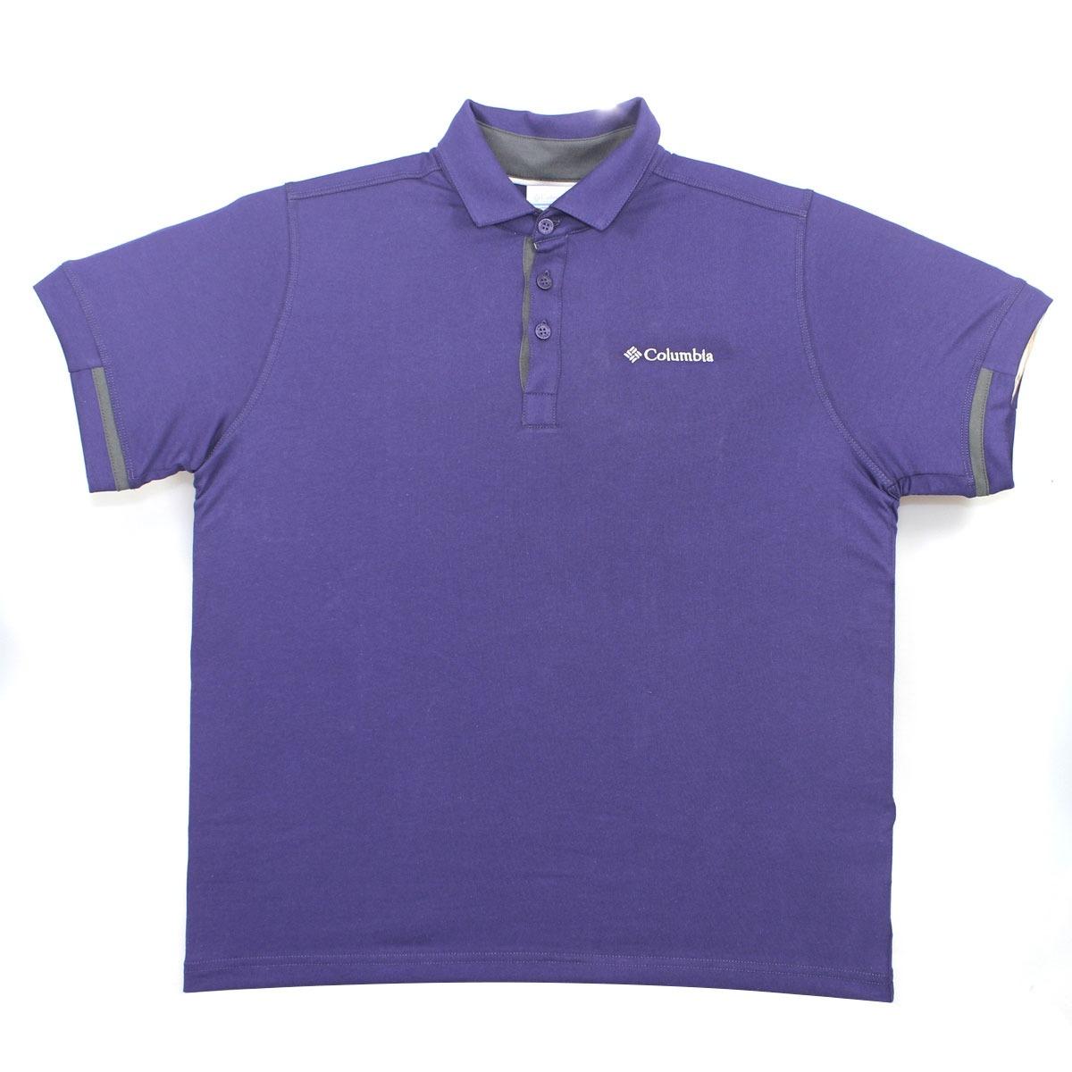 camisa polo columbia pool violet blue 320270. Carregando zoom. 87d6867085b4f
