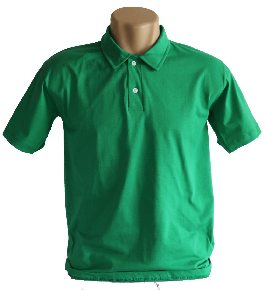 ec55848725 Camisa Polo Com Bolso Malha Lisa 100% Algodão Fio 30.1 - R  28