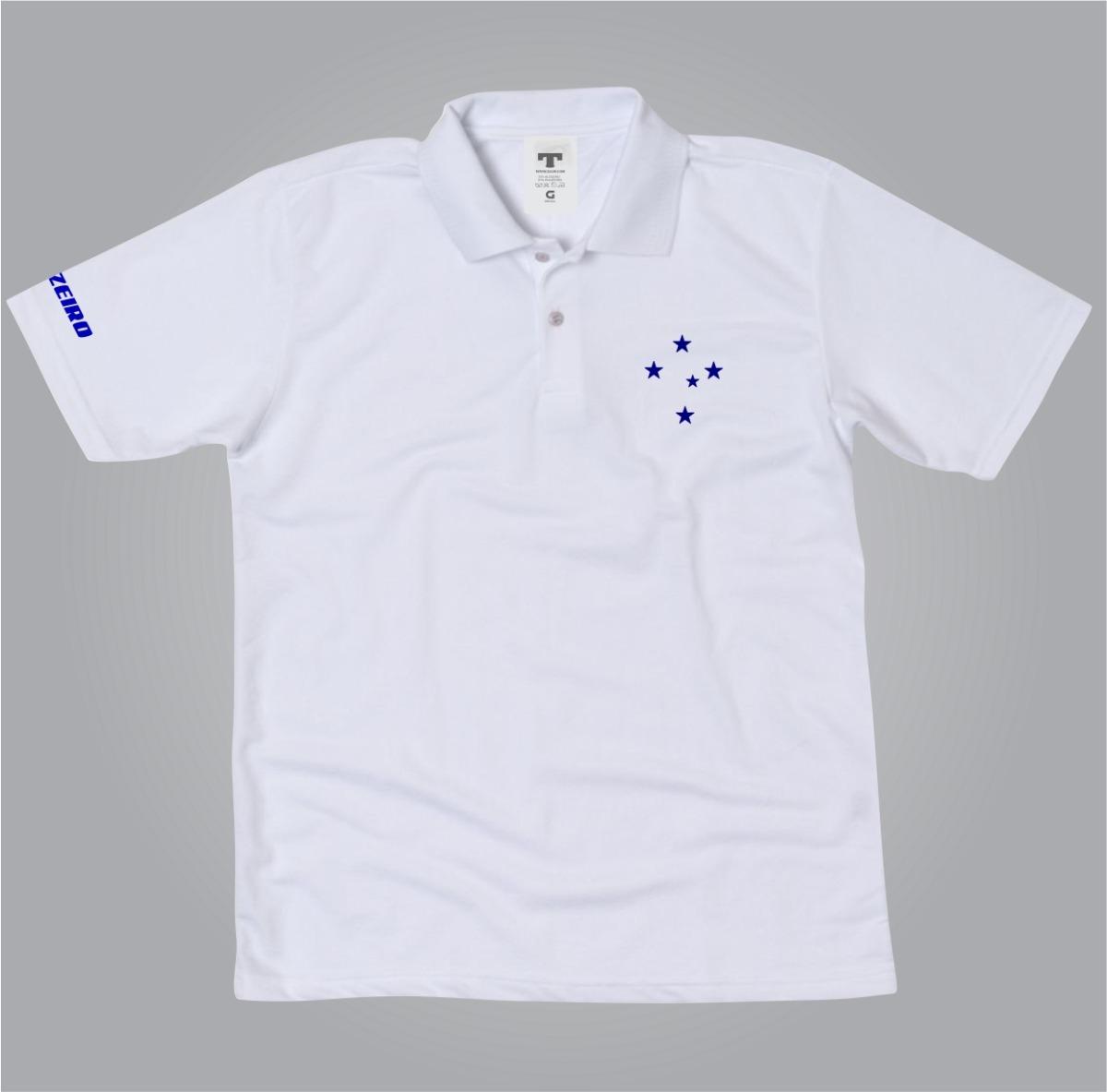5341c3e0a Camisa Polo Cruzeiro