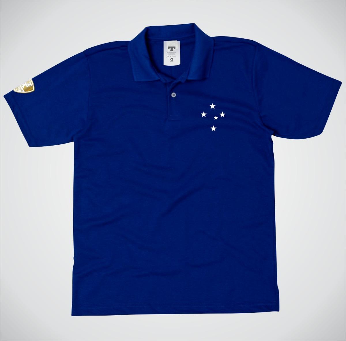 050c7f5416 Camisa Polo Cruzeiro