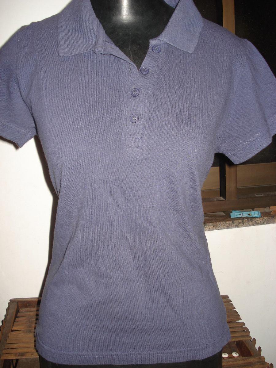 72f72ac6a6 camisa polo da hering feminina tam m. Carregando zoom.