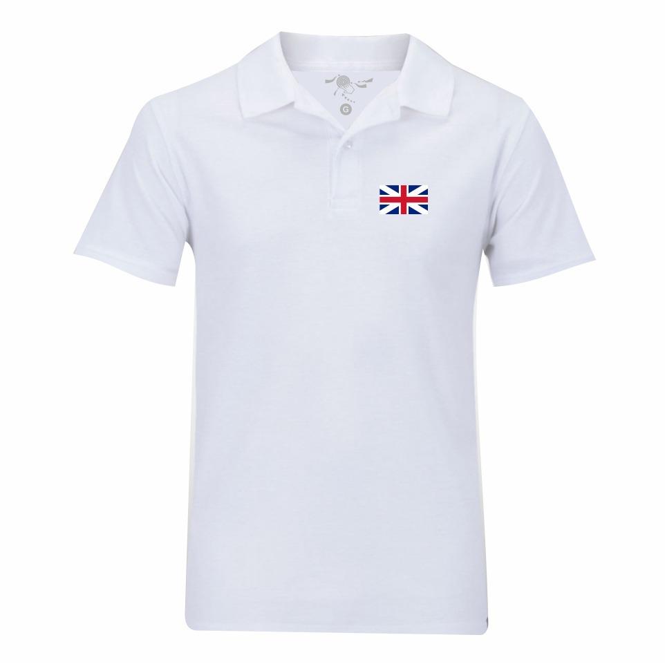 camisa pólo da inglaterra frete grátis. Carregando zoom. 45b6636d2a7c0