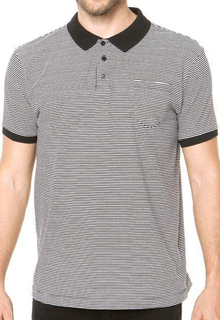 e4f008bffcc Camisa Polo Dafiti I.d. Listrada Preta - R  45
