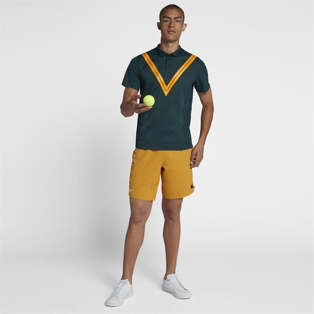 Camisa Polo De Tênis Nike Court Cooling Roger Federer Advant - R ... 4fa062126e159