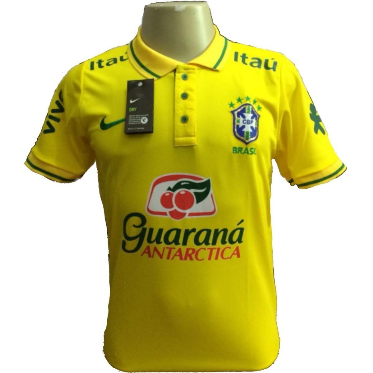 c9e61ece29 camisa polo de treino brasil amarela seleçao copa 2018. Carregando zoom.