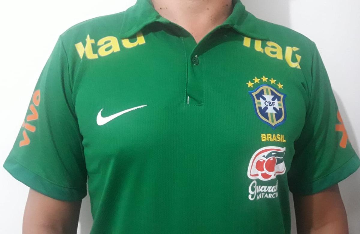 1b9fbd6687 camisa polo do brasil passeio seleção brasileira copa 2018. Carregando zoom.