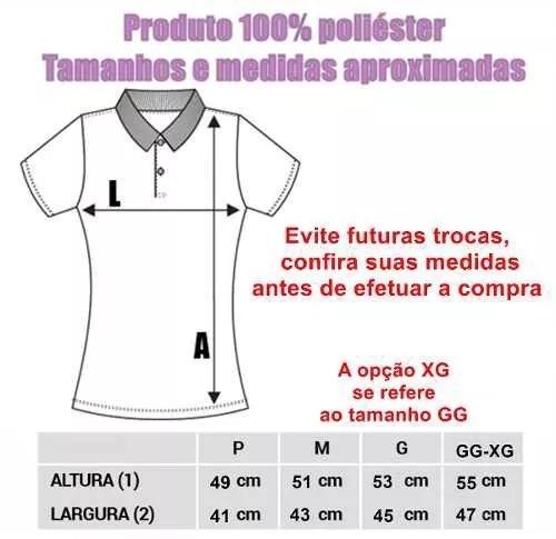 b1e31b3467 Camisa Polo Do Santos Feminina Baby Look Oficial - R  49