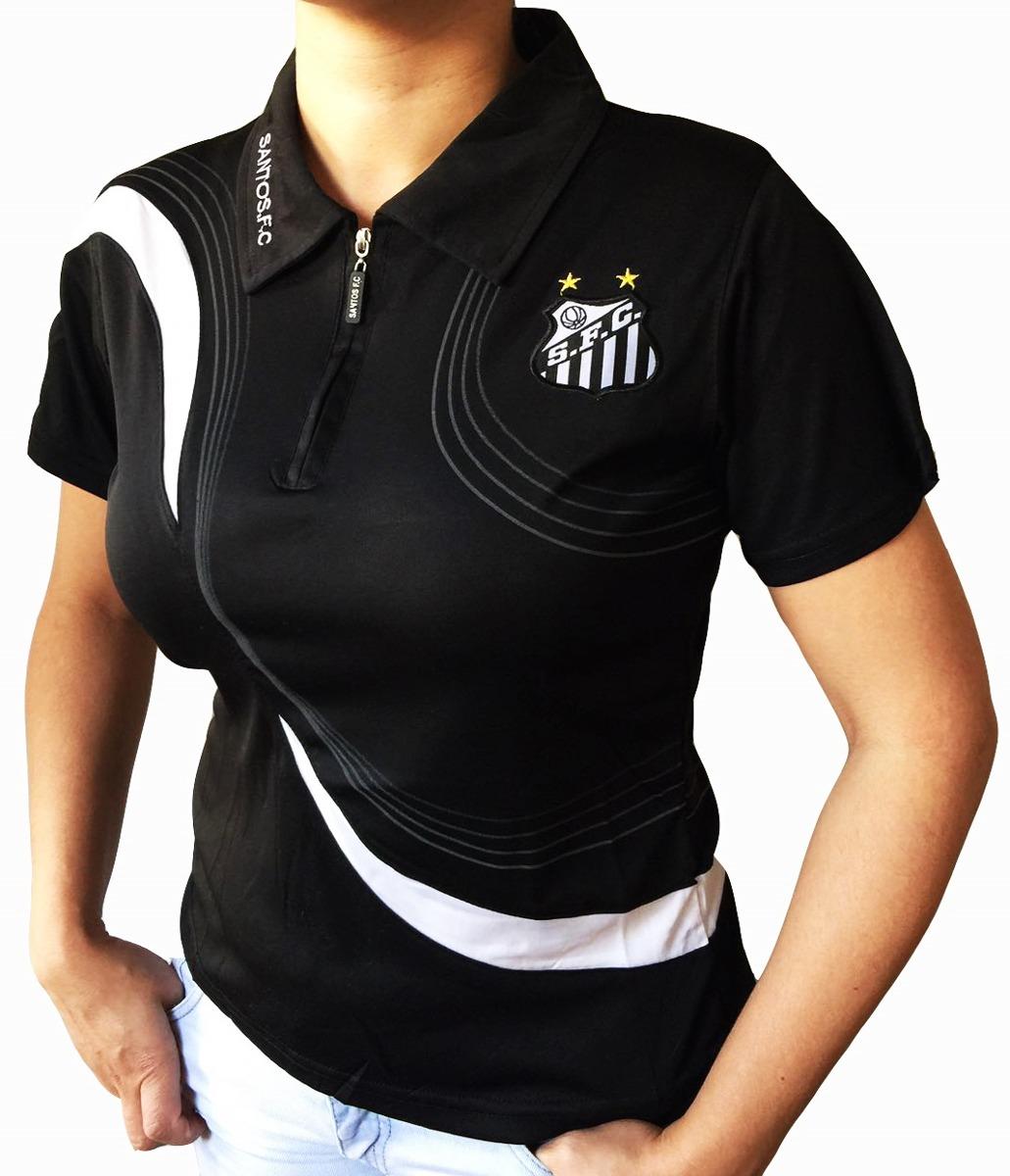 02a9e78489f65 camisa polo do santos feminina baby look oficial. Carregando zoom.