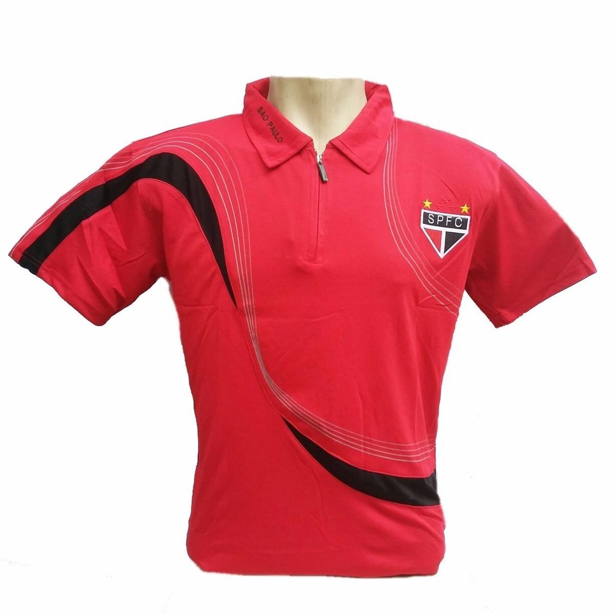 ba3786429ae Camisa Polo Do São Paulo Masculina Top Frete Gratis - R  90