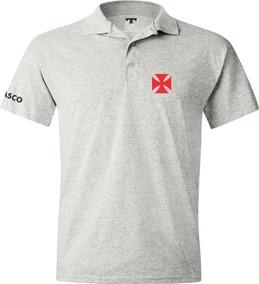 358681a12fbe6 Camisa Polo Cinza - Masculina Vasco em De Times Nacionais no Mercado Livre  Brasil