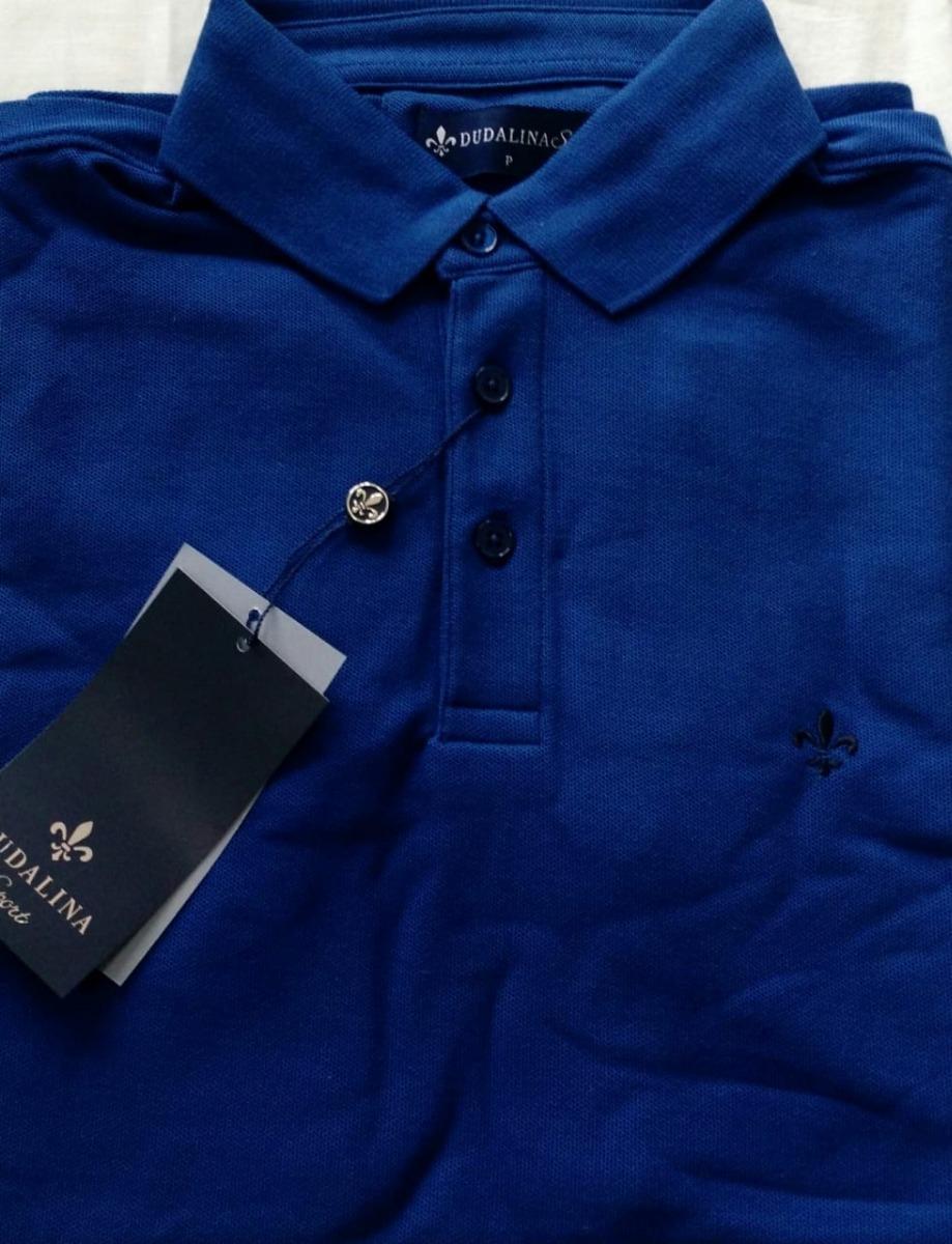 camisa polo dudalina masculina original. Carregando zoom. 75e0f9a9359f9